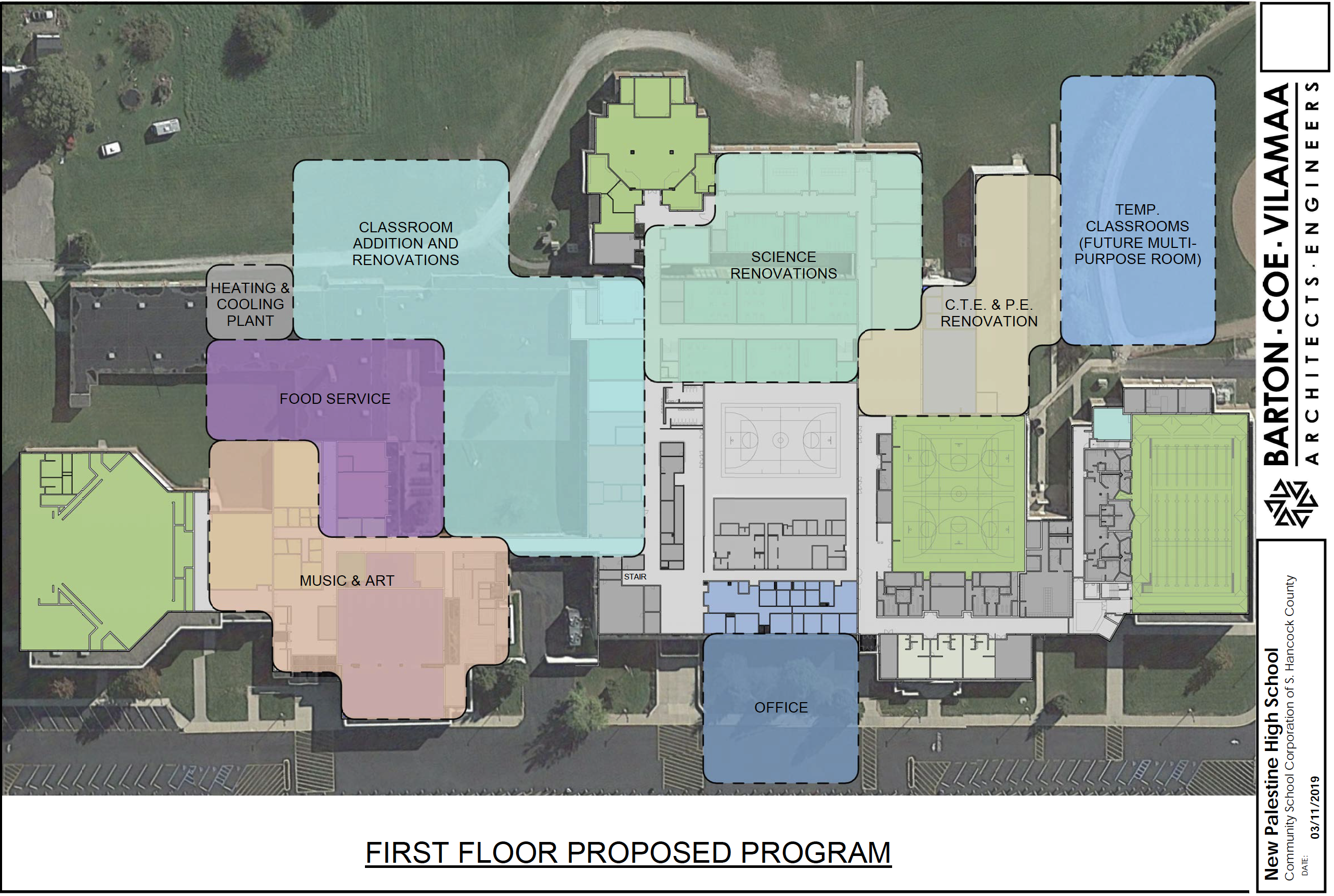 Concept of NPHS Renovation Project - First Floor
