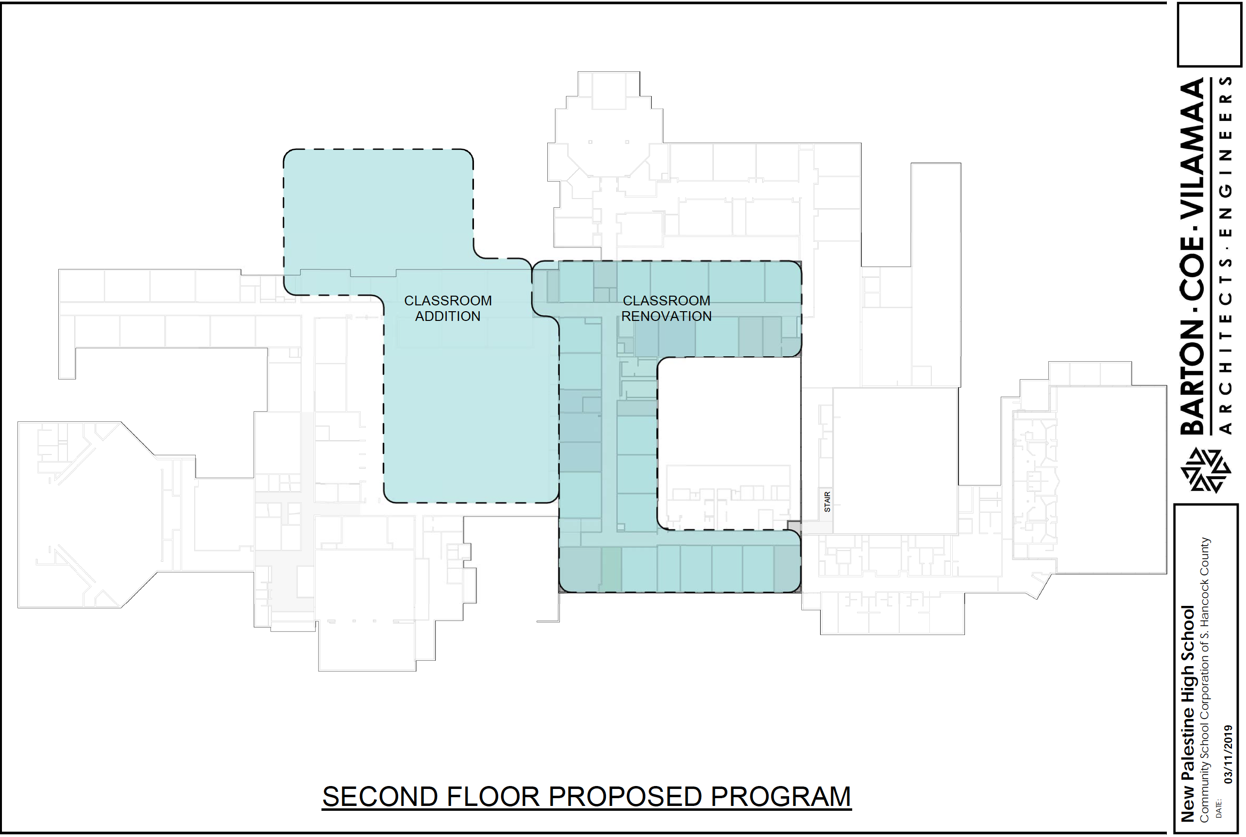 Concept of NPHS Renovation Project - Second Floor